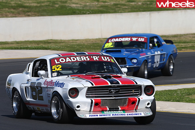 Ford -Mustang -at -Muscle -Car -masters