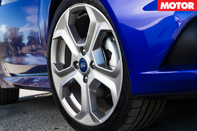 Ford fiesta ST wheel