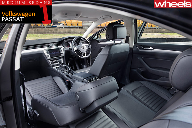 Volkswagen -Passat -interior