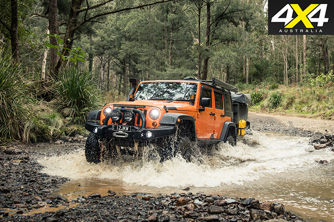 Jeep AEV drive