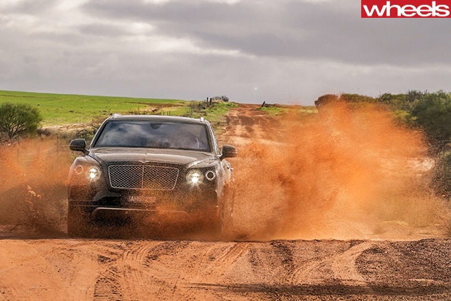 Bentley -Bentayga -off -road