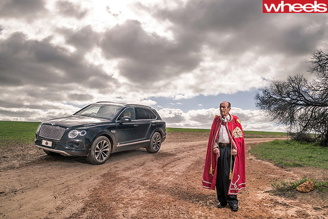 Bentley -Bentayga -and -Prince -leonard -standing