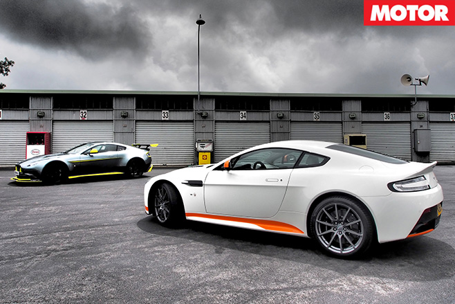 Aston Martin Vantages still