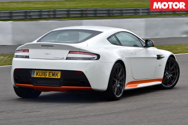 Aston Martin V12 Vantage -S-rear