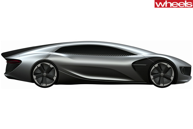 Volkswagen -Patent -EV-Sports -car -rear