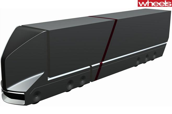 VW-Truck -side -front