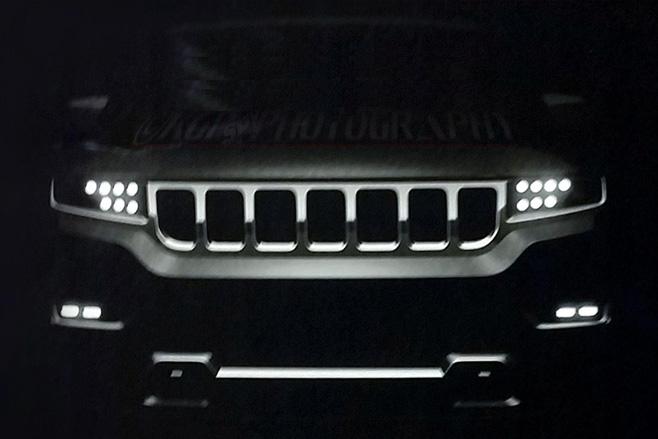 Next-gen jeeps wagoneer front