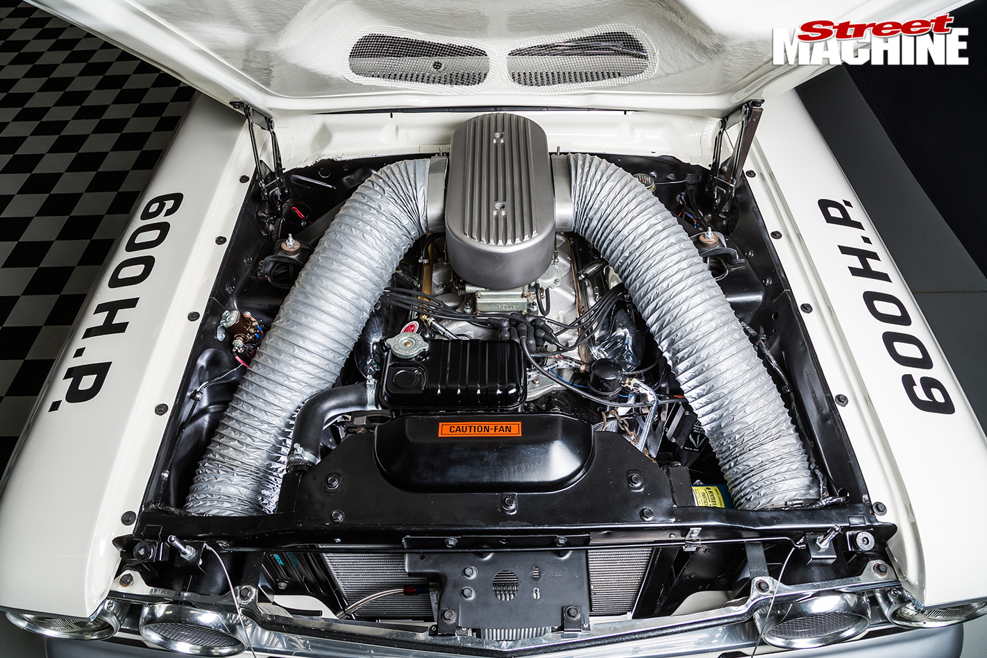 REPLICA-FORD-FAIRLANE-THUNDERBOLT-engine -1