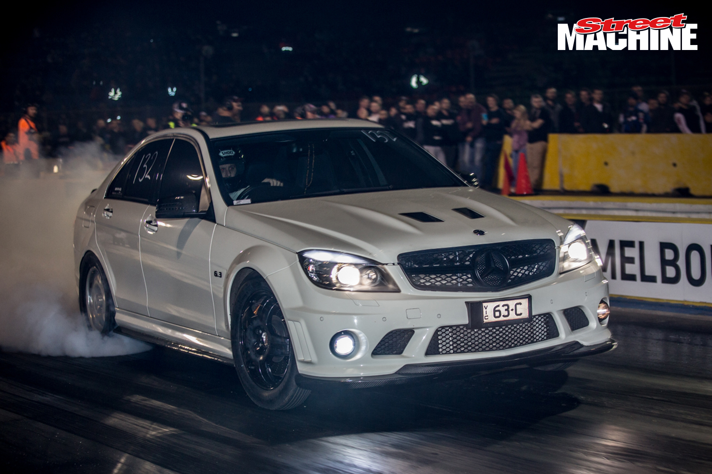 Mercedes C63 AMG Supercharged