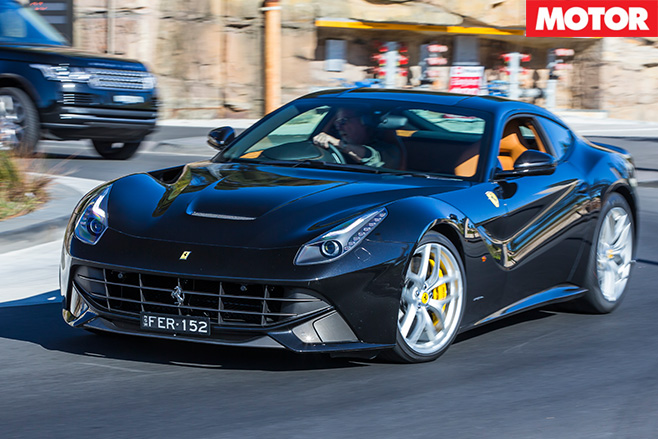 Driving the ferrari F12