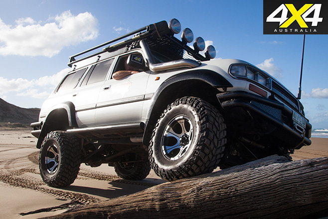 Toyota LandCruiser 80 series: Custom 4x4