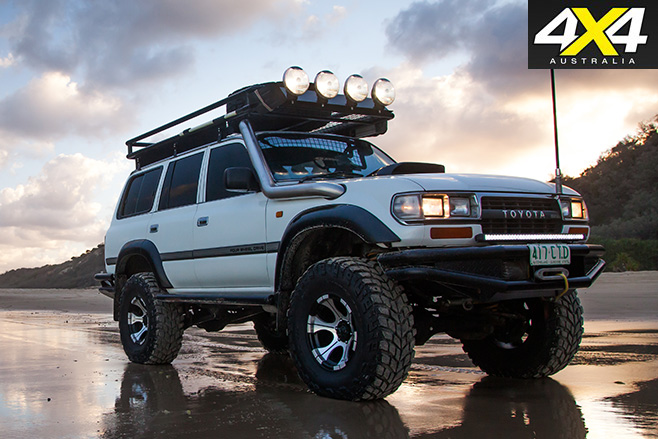 Custom landcruiser 80-series still