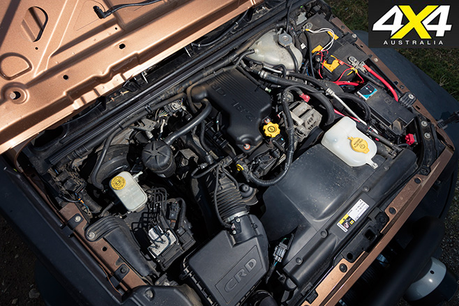 Murchison Jeep JK Wrangler Pick-up engine
