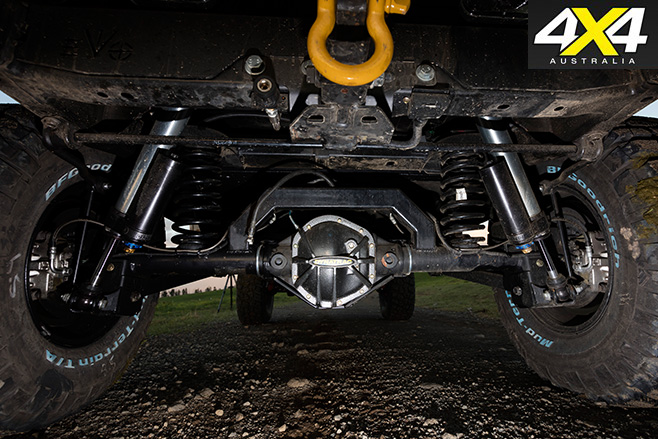 Murchison Jeep JK Wrangler Pick up undercarriage