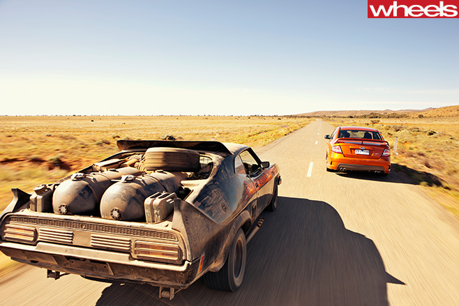 2010-FPV-GT-P-racing -Mad -Max -interceptor -rear