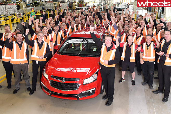 Holden -Commodore -factory -employees
