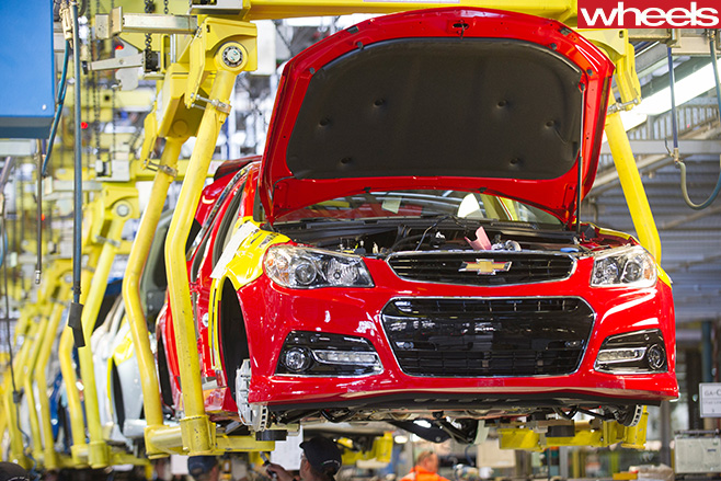 Holden -Commodore -production -line