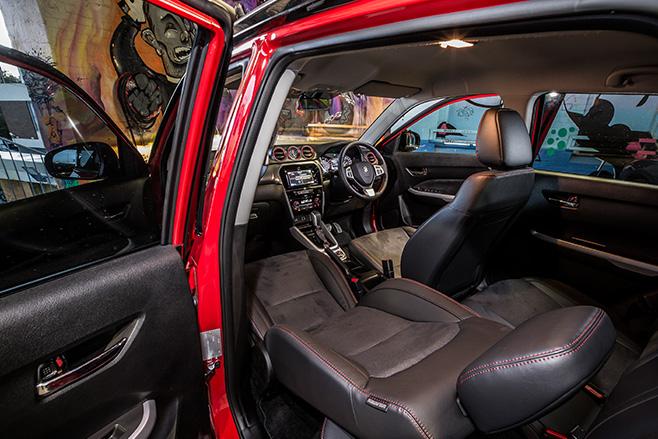 Suzuki -Vitara -interior
