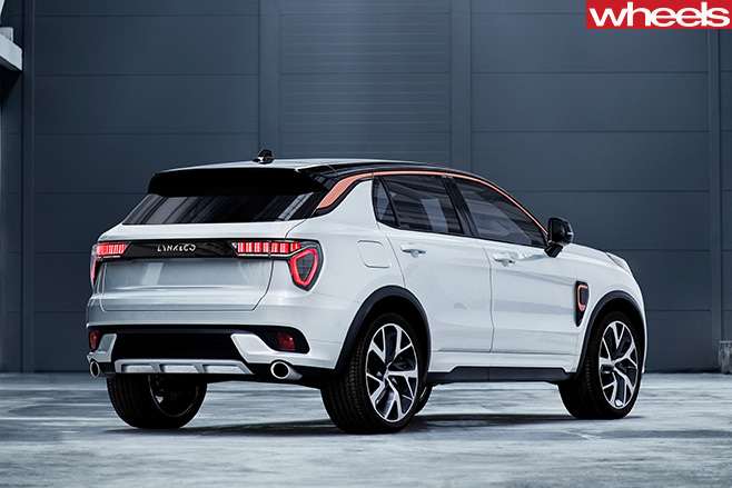 Lynk -and -Co -SUV-rear -side