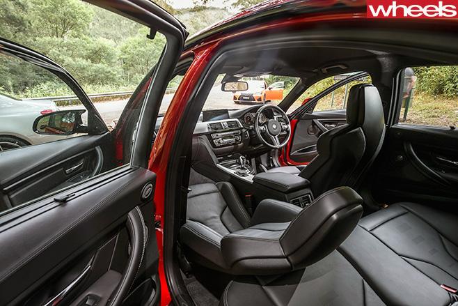 BMW M3 Passenger Interior
