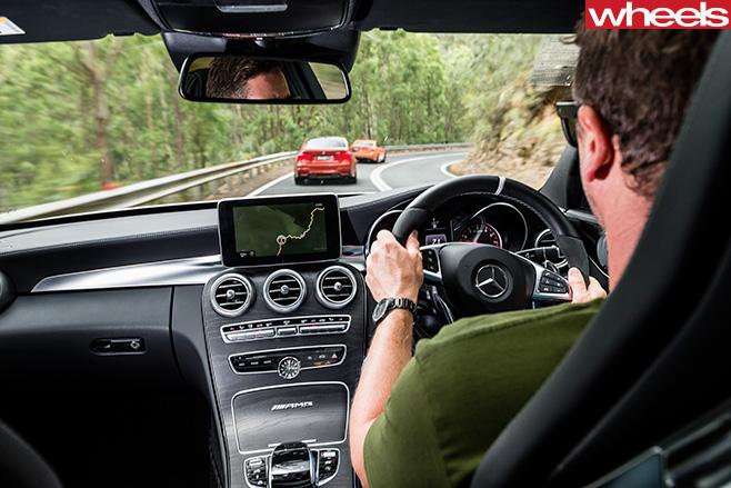 Mercedes -AMG C63 S Interior