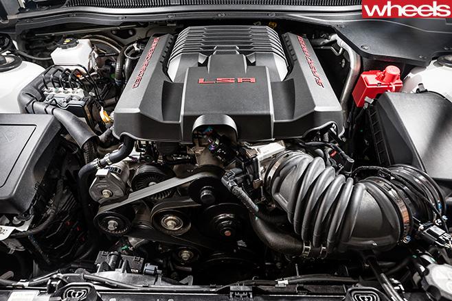 HSV Clubsport LSA Engine Bay