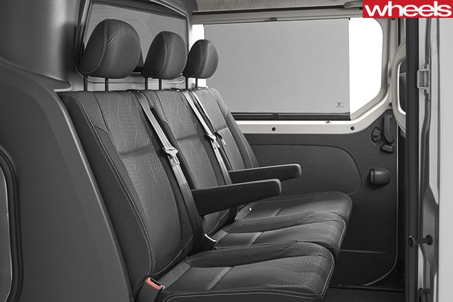 Renault -Trafic -Sport -rear -seats