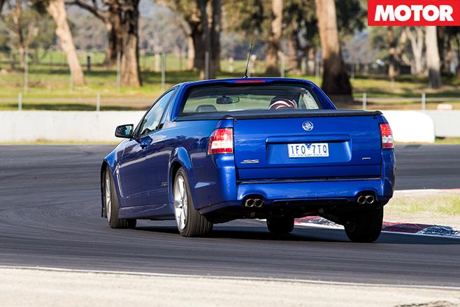 Holden SS ute rear