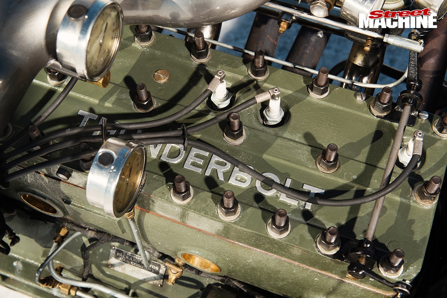 BRIAN-THOMAS'-FORD-MODEL-A-MOD-ROADSTER-engine -2