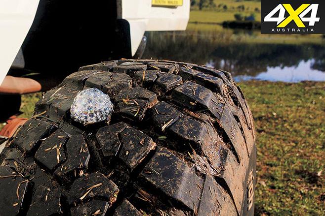 finding tyre leak