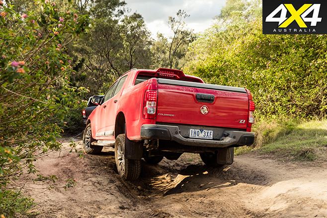 Holden Colorado Z71 rear