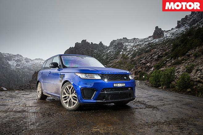 Ranger Rover Sport SVR still