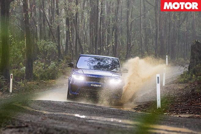 Ranger Rover Sport SVR front