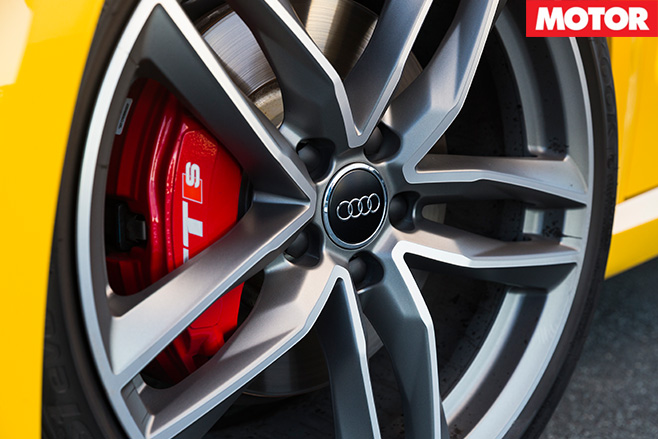 Audi TT S wheel
