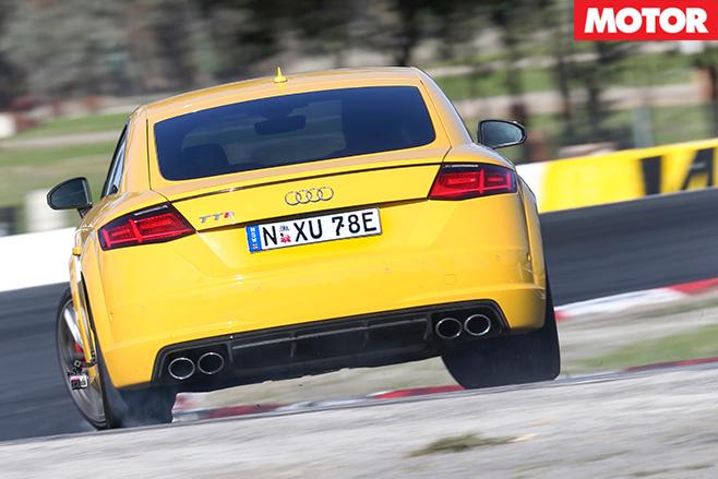 Audi TT S rear