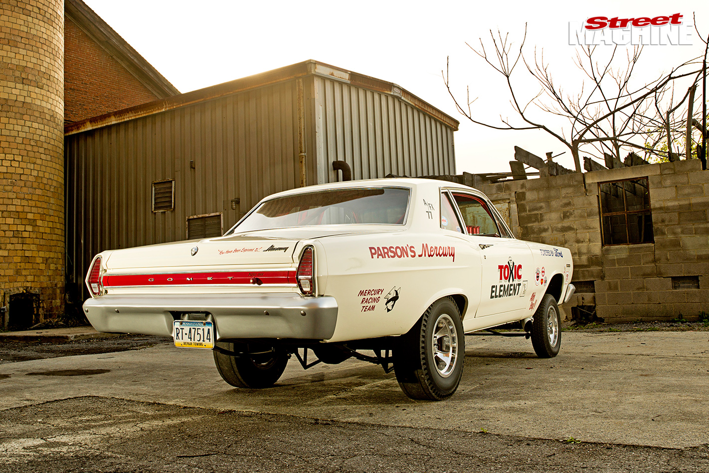1967-MERCURY-COMET-GASSER-rear