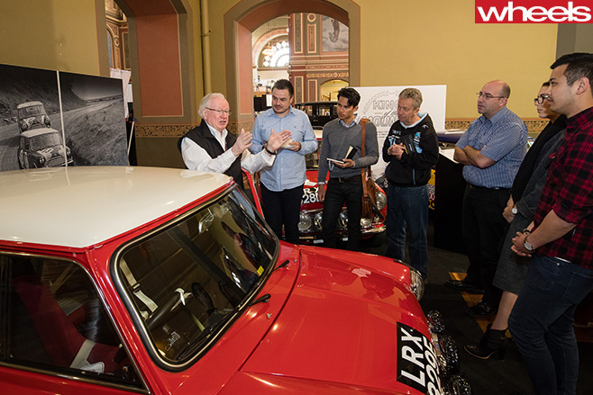 Rauno -Aaltonen -speaking -at -Motorclassica
