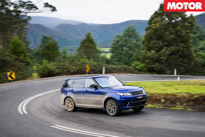 Range Rover SVR driving side