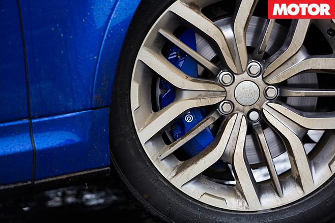 Range Rover SVR wheel
