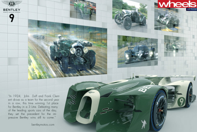 Bentley -history -of -Le -mans -racing -cars