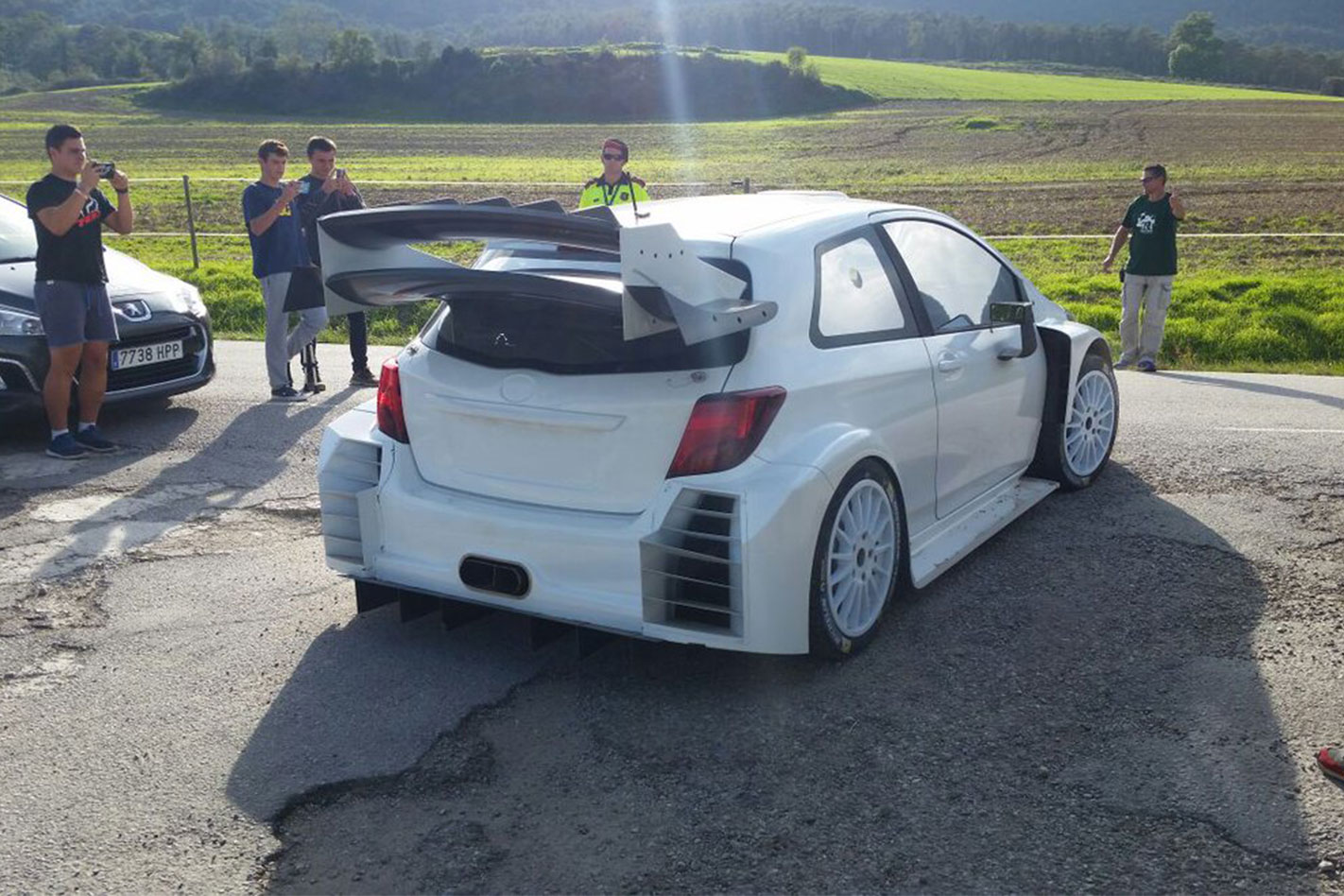2017-Toyota -Yaris -WRC-rear