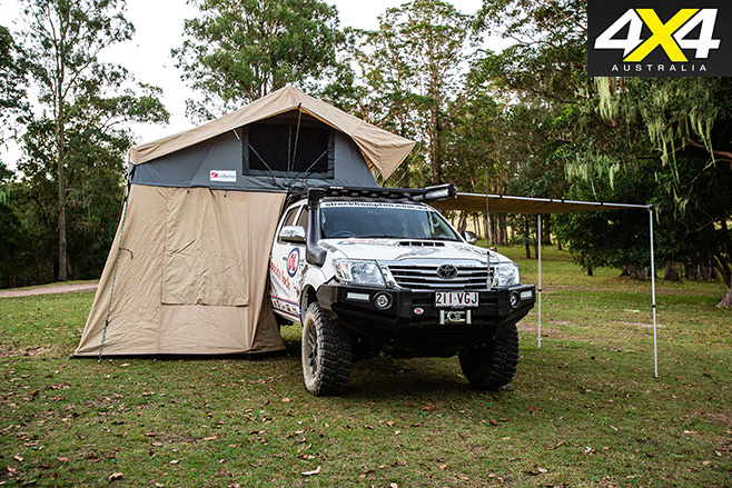 4WD with canopy