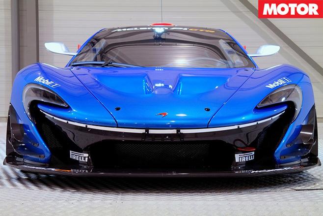 Road legal McLaren P1 GTR front