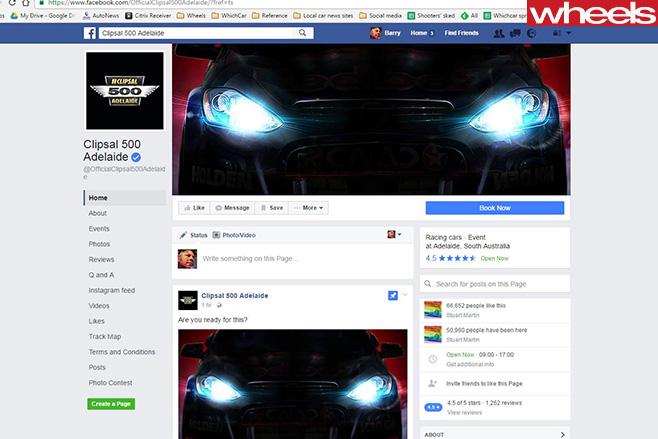 Mystery -holden -teased -clipsal -500-social -media -marketing -campaign