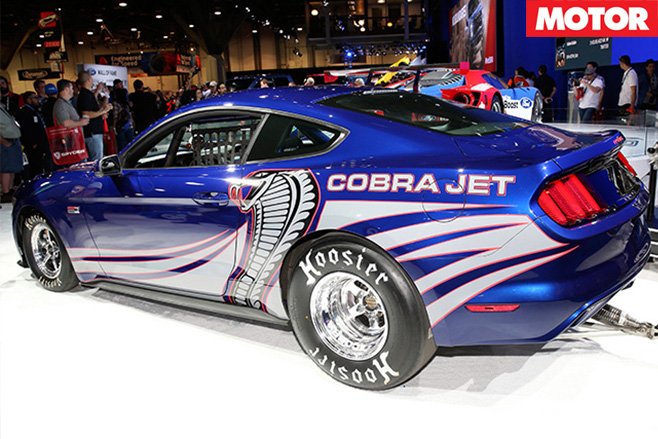 Cobra jet engine mustang