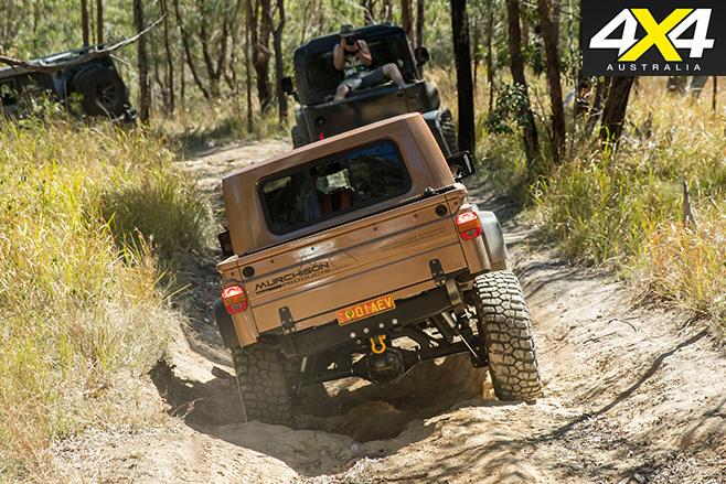 Jeep wrangler ute rear