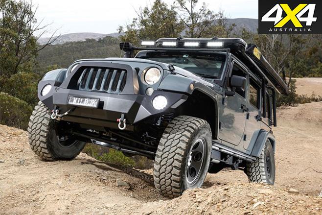 Custom jeep JK wrangler rubicon front
