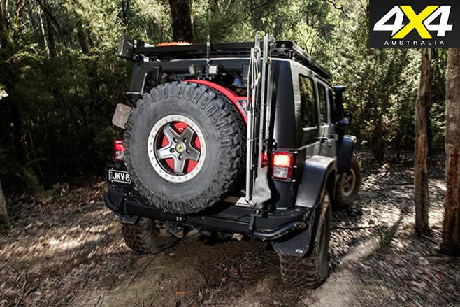 Jeep JK v8 wrangler rear