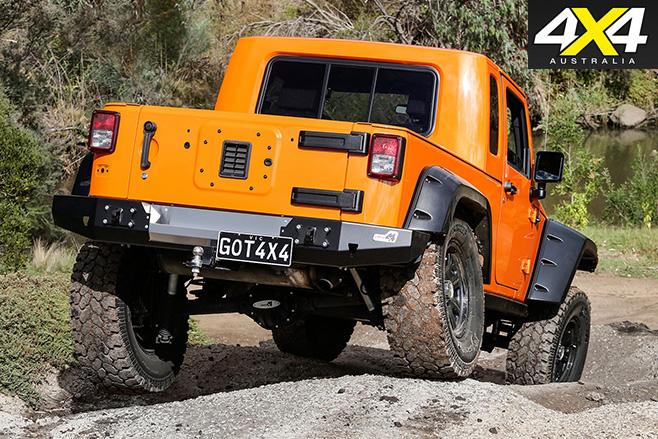 Jeep Wrangler JK-8 ute rear