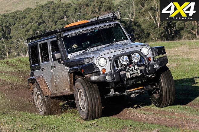 Jeep JK V8 wrangler front